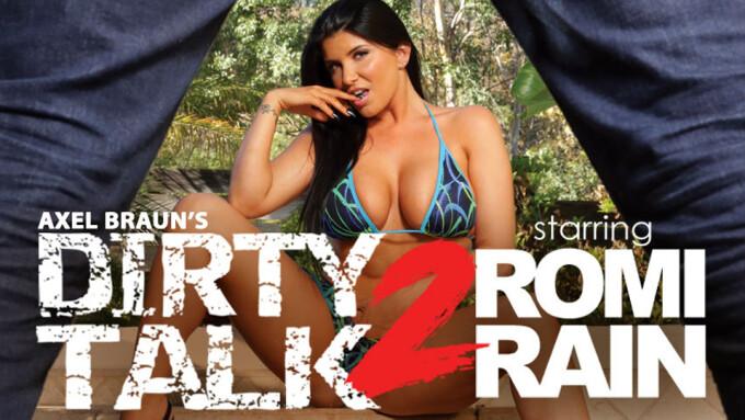 Romi Rain Stars in Wicked's 'Axel Braun's Dirty Talk 2'