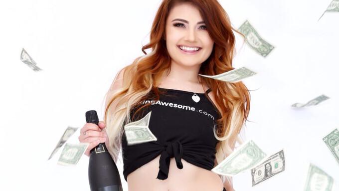 Adria Rae Named FuckingAwesome.com's March #FAGirloftheMonth