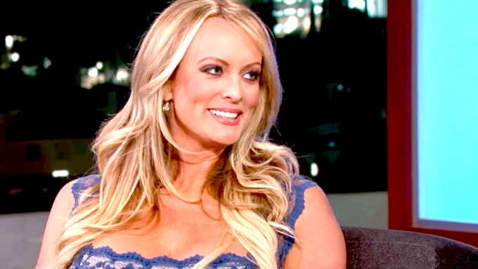 Stormy Daniels Refiles Motion to Depose Trump, Cohen