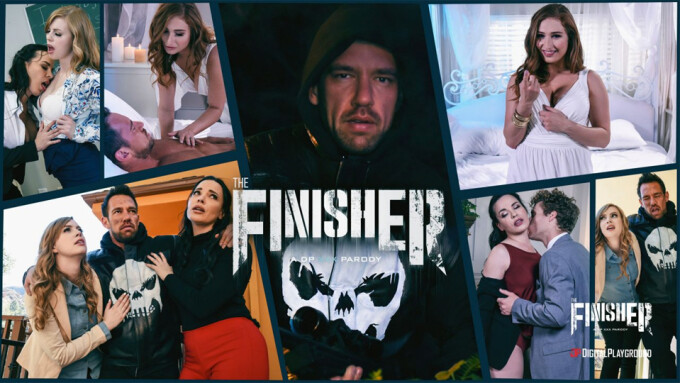 Johnny Castle, Dana DeArmond Star in Digital Playground's 'The Finisher' Parody