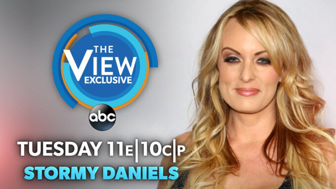 Stormy Daniels to Appear on ABC's 'The View' on Tuesday