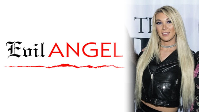 Aubrey Kate Takes on '8' in New Evil Angel Release