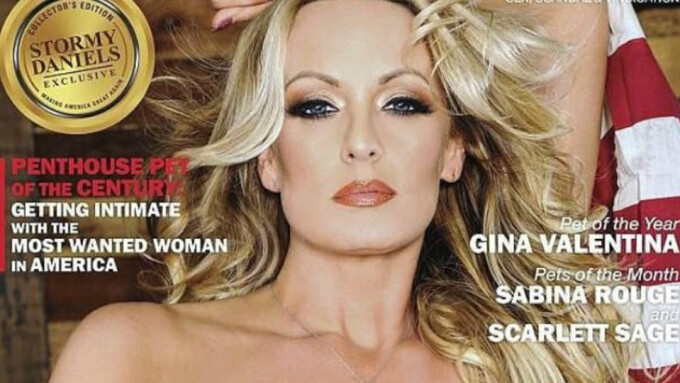 Stormy Daniels Named Penthouse Pet of the Century