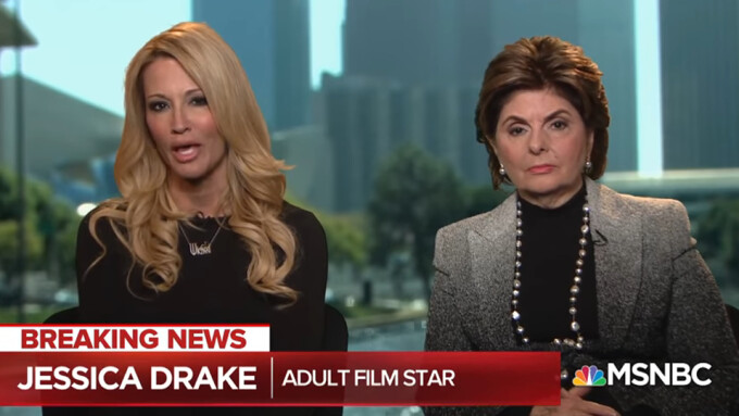 Jessica Drake Backs Stormy Daniels' Claims in MSNBC Interview