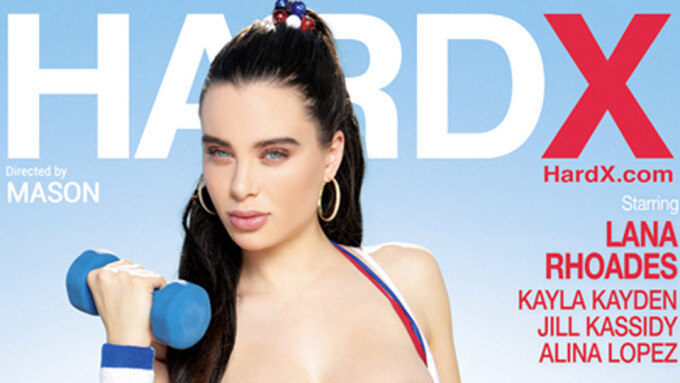 Lana Rhoades, Alina Lopez Show Off 'Hot Bodies' for 3rd HardX Installment