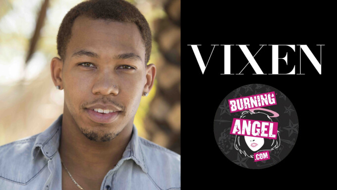 Ricky Johnson Stars in New Scenes From Vixen, Burning Angel