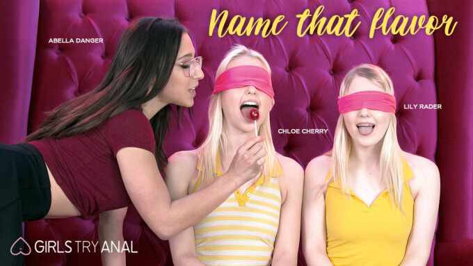 Chloe Cherry, Lily Rader Taste Abella Danger in Girlsway's 'Name That Flavor'