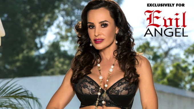 Lisa Ann's 'Back for More' Evil Angel DVD Now Available