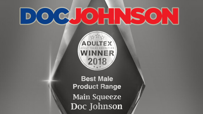 Doc Johnson Wins 2018 Adultex Award for Main Squeeze Line
