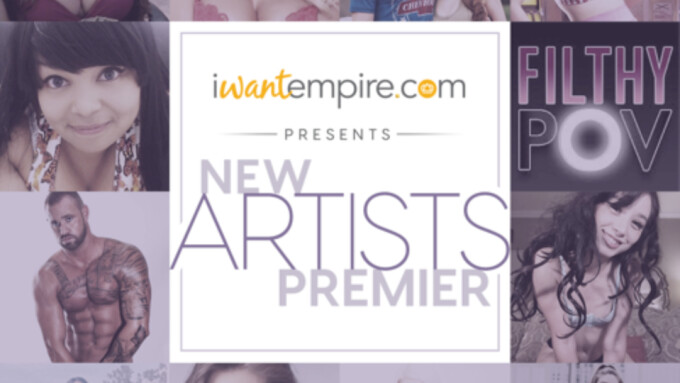 iWantEmpire Debuts Eclectic Group of 62 New Artists