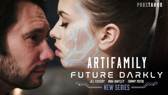 Jill Kassidy Stars in Pure Taboo's 'Future Darkly: Artifamily'