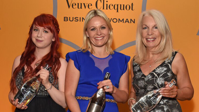 MysteryVibe's Stephanie Alys Receives Veuve Clicquot 'New Generation' Award