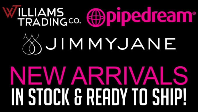 Williams Trading Shipping New Items From Pipedream