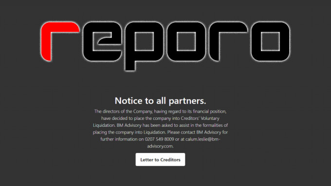 Reporo Makes Plans to Liquidate Company