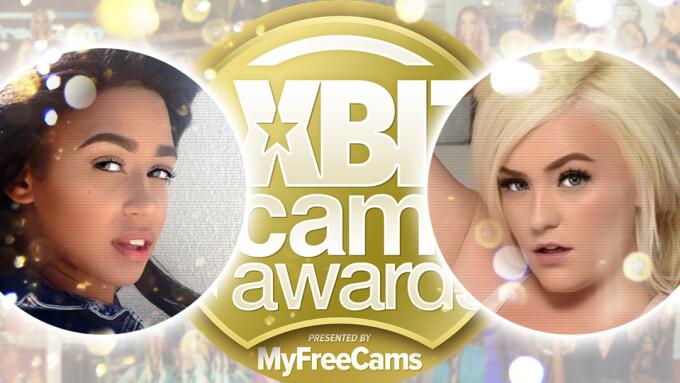 Macy Kennedy, Noah Bensi Named XBIZ Cam Awards Trophy Girls