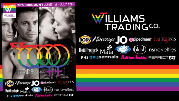 Williams Trading Launches 2018 Gay Pride Marketing Campaign