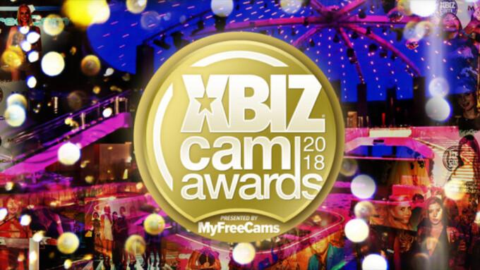 2018 XBIZ Cam Awards Winners Announced