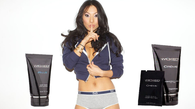 Asa Akira Touts Wicked Sensual Care Products in Column