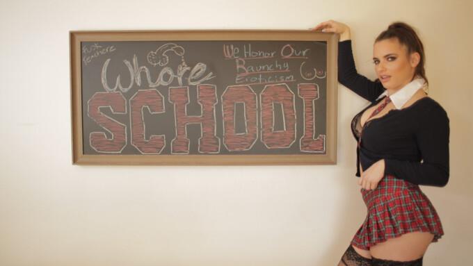 Scarlet de Sade Stars in Evil Angel's 'Whore School'