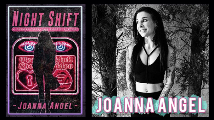 Joanna Angel to Discuss 'Night Shift' at S.F.'s 'Writers With Drinks' Event