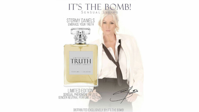 Stormy Daniels, It's The Bomb Partner for Fragrance Line
