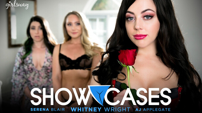 Whitney Wright 'Showcases' New GOTM Scene for Girlsway