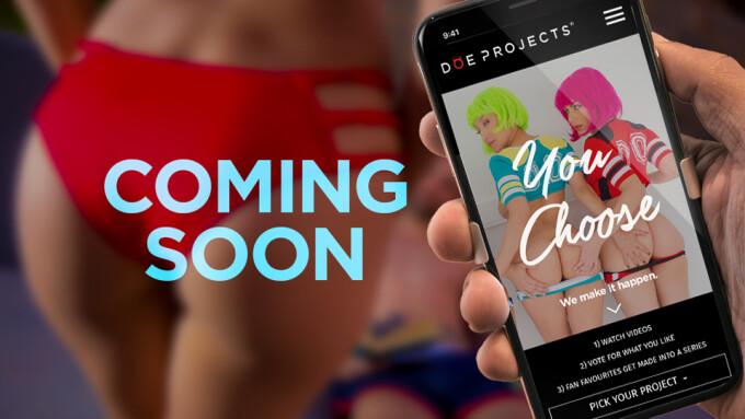 PornDoe Premium Debuts 'Doe Projects' Pilot Selection Program
