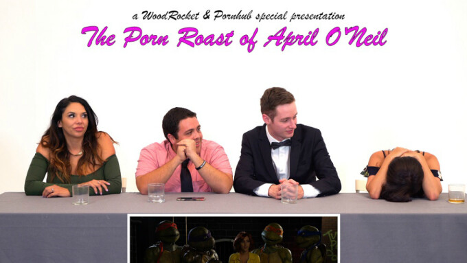 WoodRocket Presents 'The Porn Roast of April O'Neil'