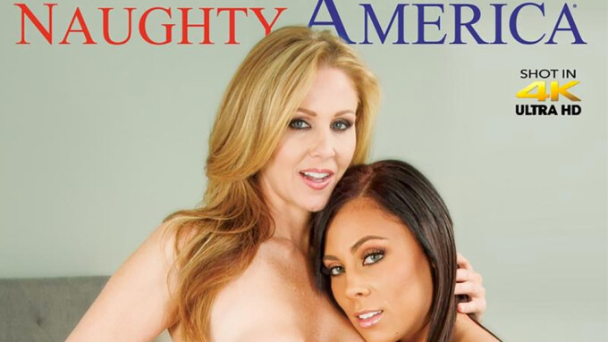 Julia Ann, Gianna Nicole Star in Naughty America's 'Seduced by a Cougar 49'