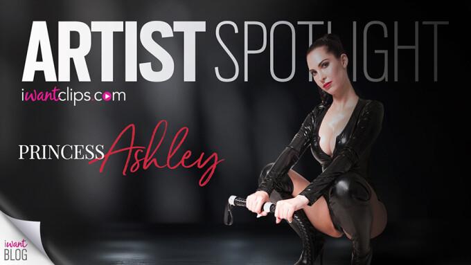 Princess Ashley Featured in iWantClips' Artist Spotlight