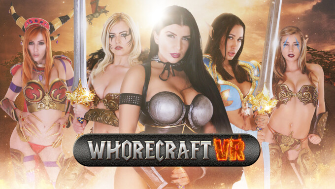Stoney Curtis, AdultEmpireCash Launch Whorecraft VR