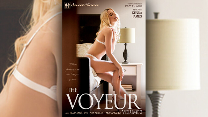 Kenna James, Eliza Jane Star in Jackie St. James' 'The Voyeur 2'