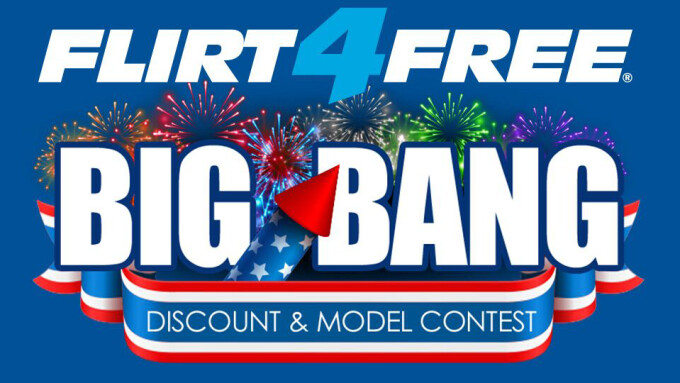 Flirt4Free Announces 4th of July 'Big Bang' Celebration