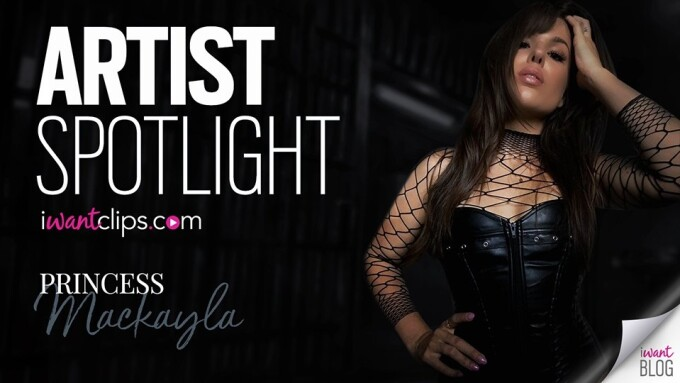 Princess Mackayla Featured in iWantClips' Artist Spotlight