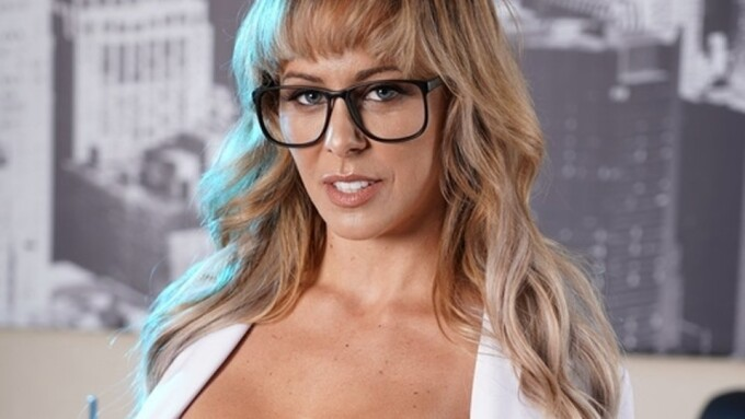 Cherie DeVille Plays Mad Scientist for Brazzers