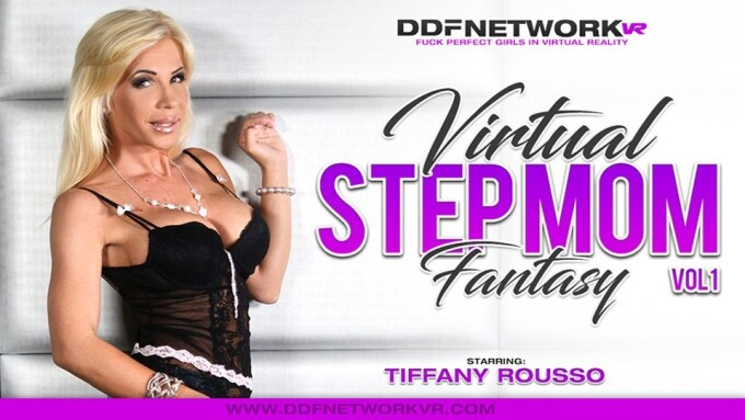 Tiffany Rousso Stars in DDFNetwork VR's 'Virtual Step Mom Fantasy'