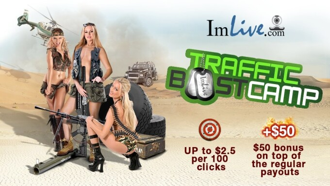 ImLive Offers 'Traffic Boostcamp' Affiliate Promo