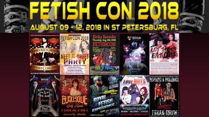 Fetish Con Unveils 2018 Sponsors, Party Schedule