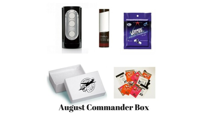 The Hand Pilot Announces August Commander Box for Men