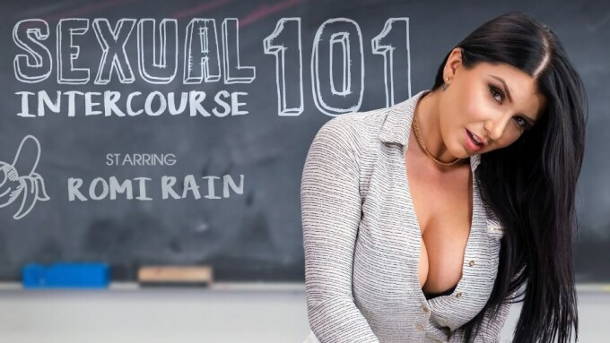 Romi Rain, VR Bangers Offering Instruction in 'Sexual Intercourse'