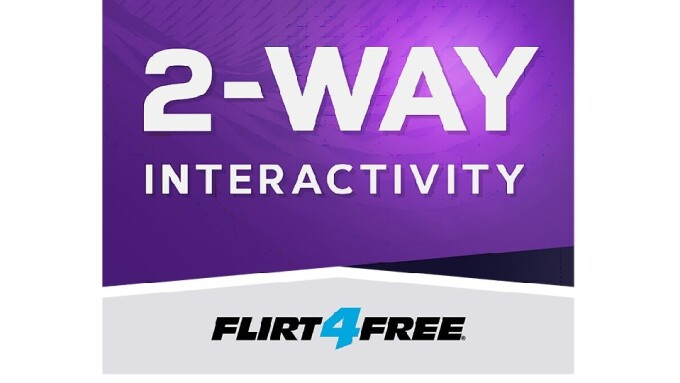 Flirt4Free Shows Off 2-Way Cam Interactivity in YouTube Videos