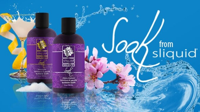 Sliquid Now Shipping Soak Bubble Bath