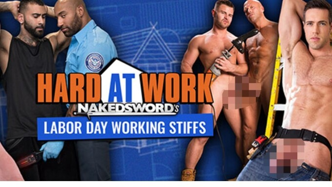 Labor Porn - NakedSword Touts Labor Day Porn Playlist - XBIZ.com