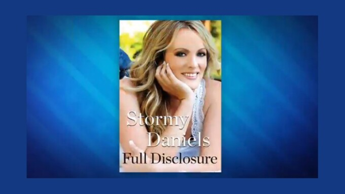 Stormy Daniels Announces Release Date for 'Full Disclosure' Memoir