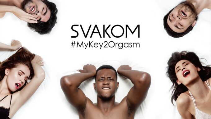 Svakom Launches Public Service Campaign #MyKey2Orgasm