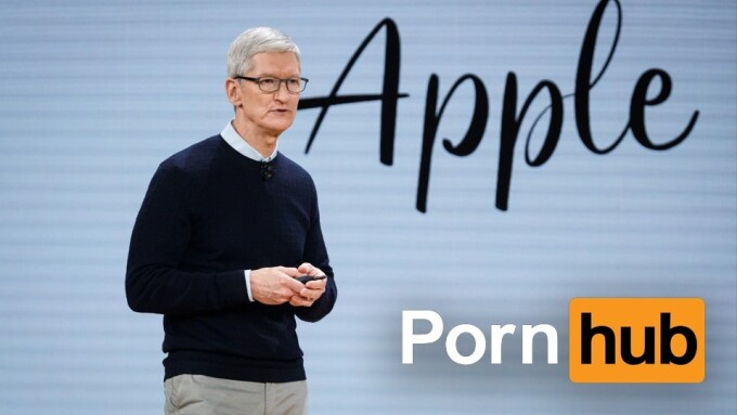 Pornhub Tracks Traffic Stats During Apple Special Event