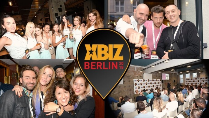 XBIZ Berlin 2018: Opening Day Sizzles With Power Players, Sexy Mischief