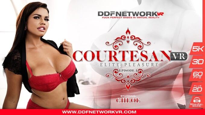 Chloé Stars in DDFNetwork's 1st Episode of 'CourtesanVR'