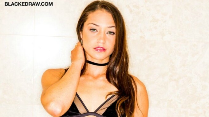 Avi Love Stars in 'Damn Girl' for Blacked Raw