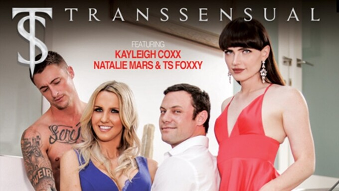 Natalie Mars, Kayleigh Coxx Star in 'TS Taboo 3' for TransSensual